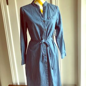 New with tags Old navy chambray shirt dress size s